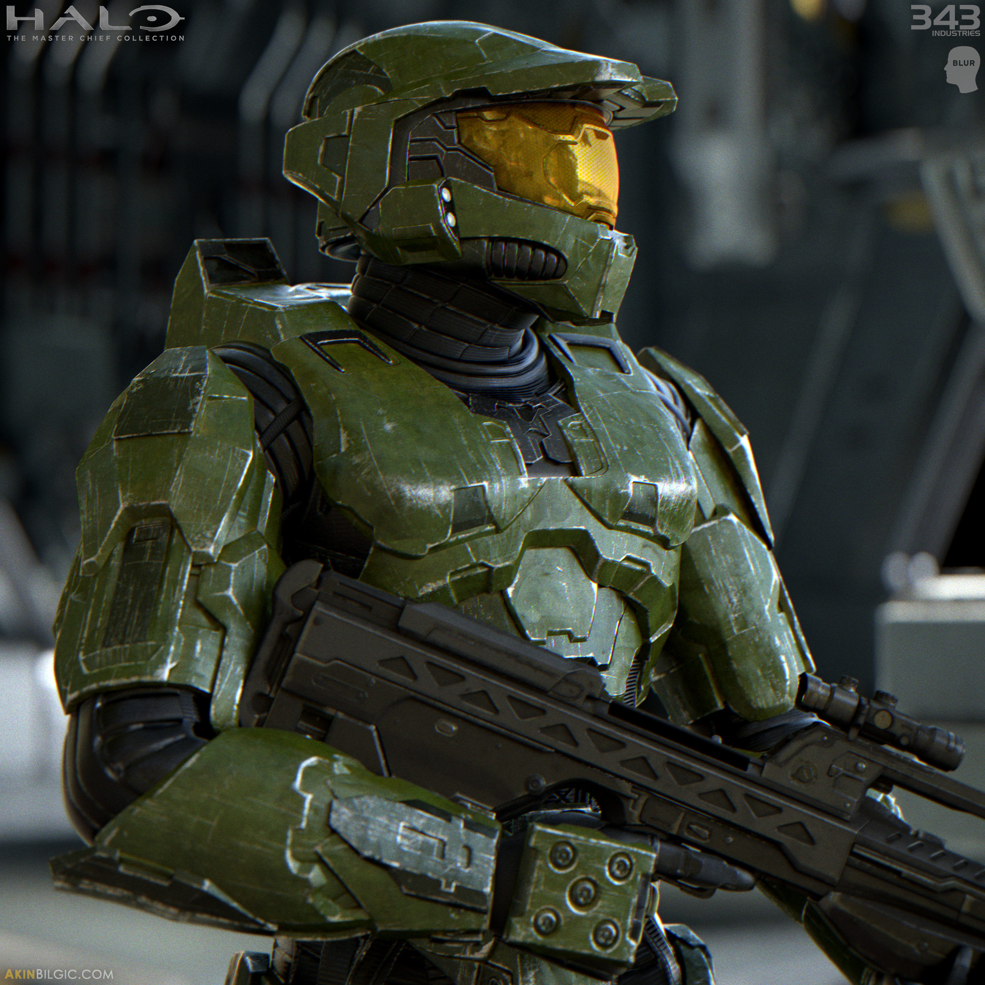 Halo Live Wallpaper: CG Modeler / Generalist