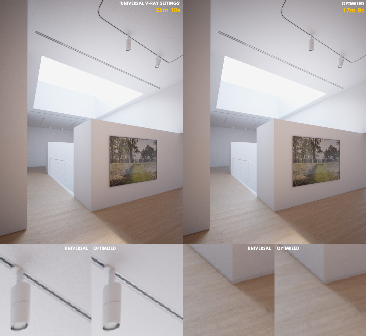 V ray render optimization akin bilgic for Vray interior lighting rendering tutorial
